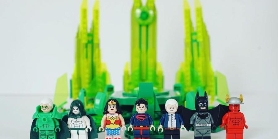 Alex Ross Lego Kingdom Come SDCC Exclusive