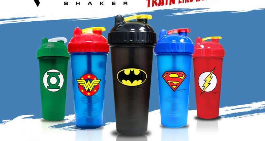 dc comics collection perfect shaker