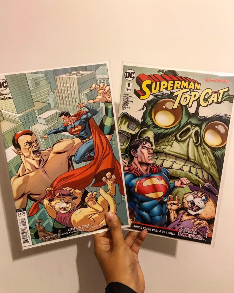 Superman/Top Cat Special Review