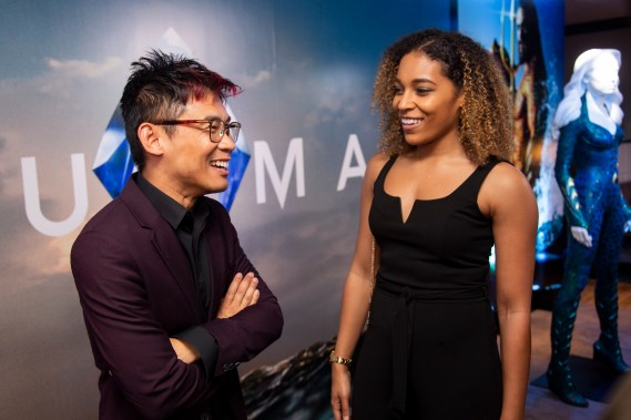 James Wan at the Aquaman World Premiere
