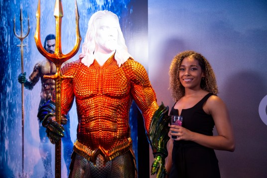 Aquaman World Premiere Costume