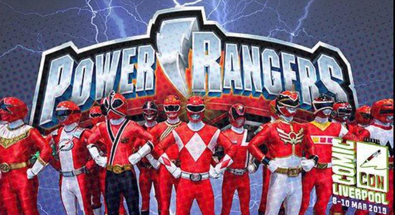 Power Rangers Liverpool Comic Con