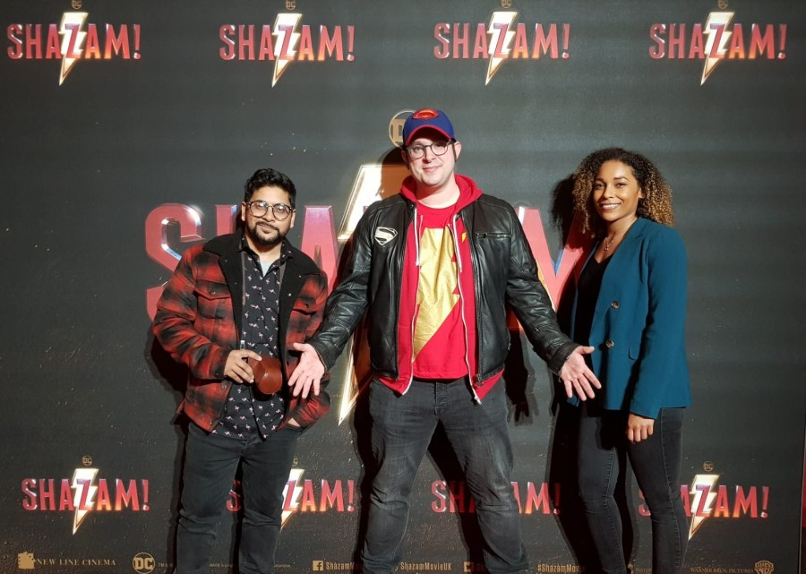 We Speak Geek Shazam Screening