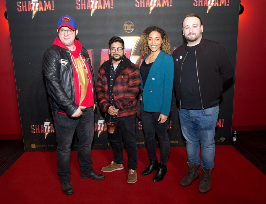 Shazam Screening London