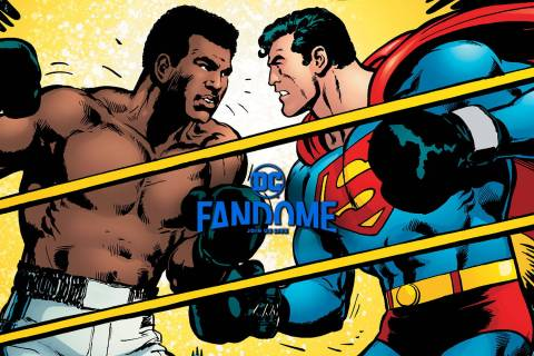 Superman X Muhammad Ali Collection