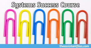 Systems Success Course