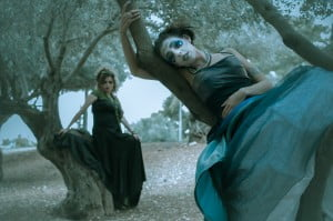 Chanel Lallouz and Avital Sykora. Photo by Yitz Woolf. Makeup by Cassy Wainer. Costumes by Bayla Lewis.