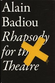 Badiou, Rhapsody Titelseite.jpg