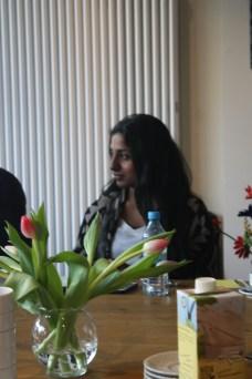Abishana Rajakumar hat ihre Ausbildung am Theater Bremen gerade erst begonnen. Am Ende wird sie Kauffrau für Büromanagement