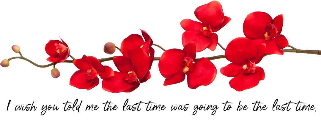 orchids-with-saying
