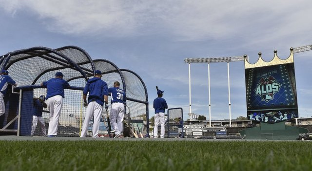 Kauffman Stadium, home of the Royals and Game 5 of the ALDS.