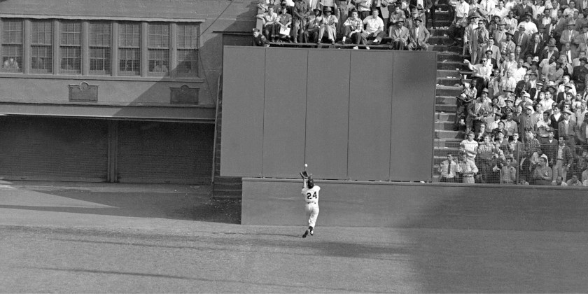 From the book New York Exposed. Willie Mays' famous eighth i