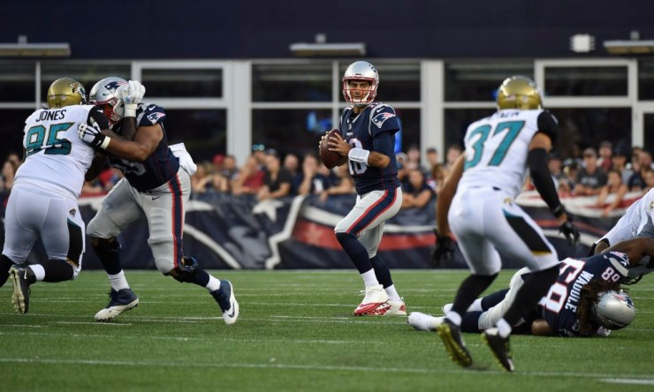 NFL: Jacksonville Jaguars at New England Patriots