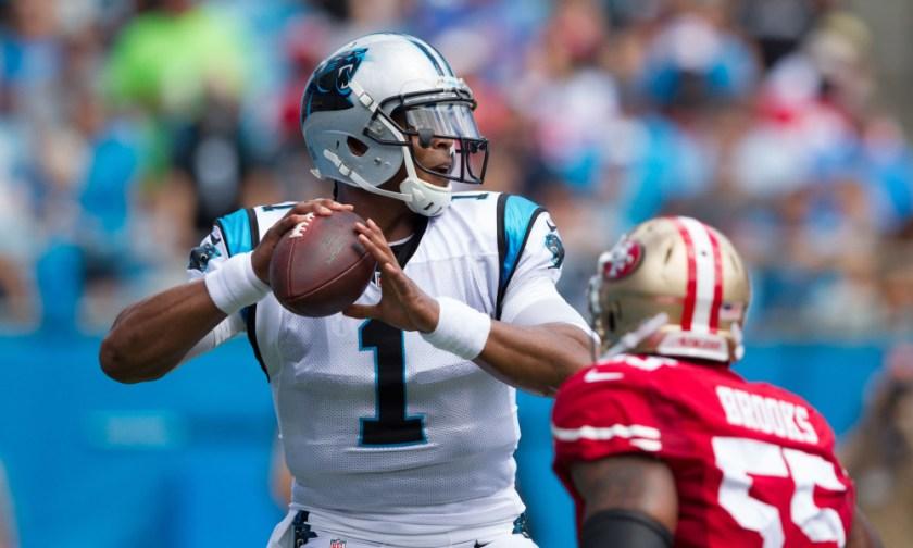 NFL: San Francisco 49ers at Carolina Panthers
