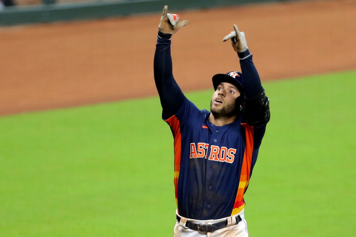 Report: George Springer Could Leave Houston in Free Agency