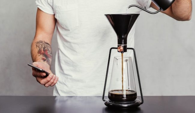 Brew the perfect cup of joe with this new smart coffee brewing system.