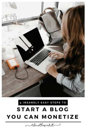 5 Insanely Easy Steps to Start A Blog You Can Monetize
