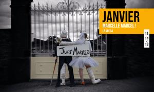 Spectacle Marcelle Marcel ! au théâtre du Gai Savoir