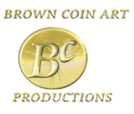 Brown Coin Art Productions logo