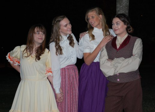 Theatre Bristol's Little Women 2016 March sisters forever