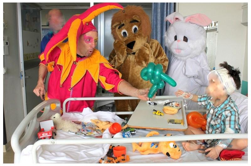 Hôpital Spectacle et animation pour enfants en milieu hospitalier