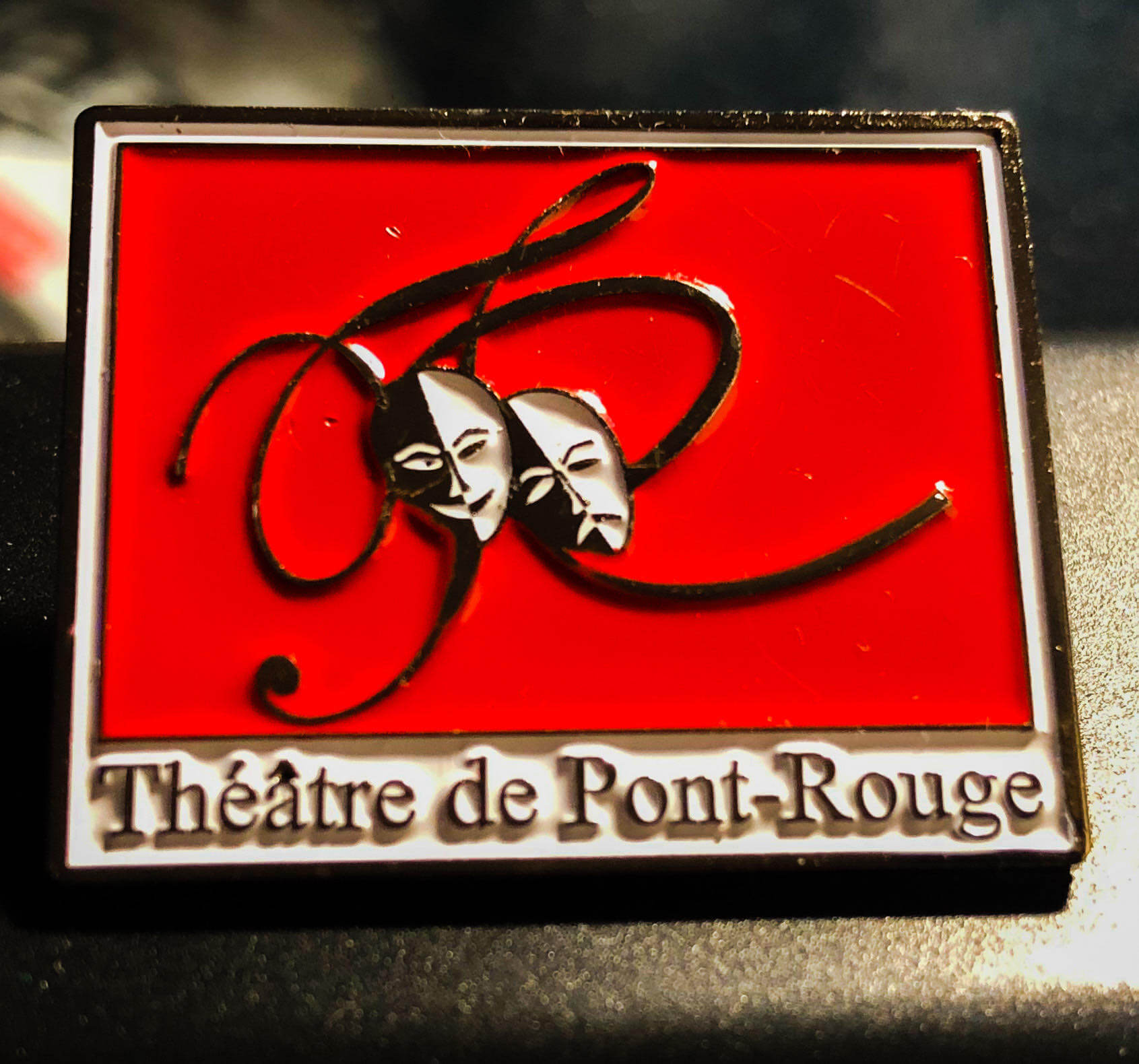 Épinglette Du Théâtre De Pont-Rouge