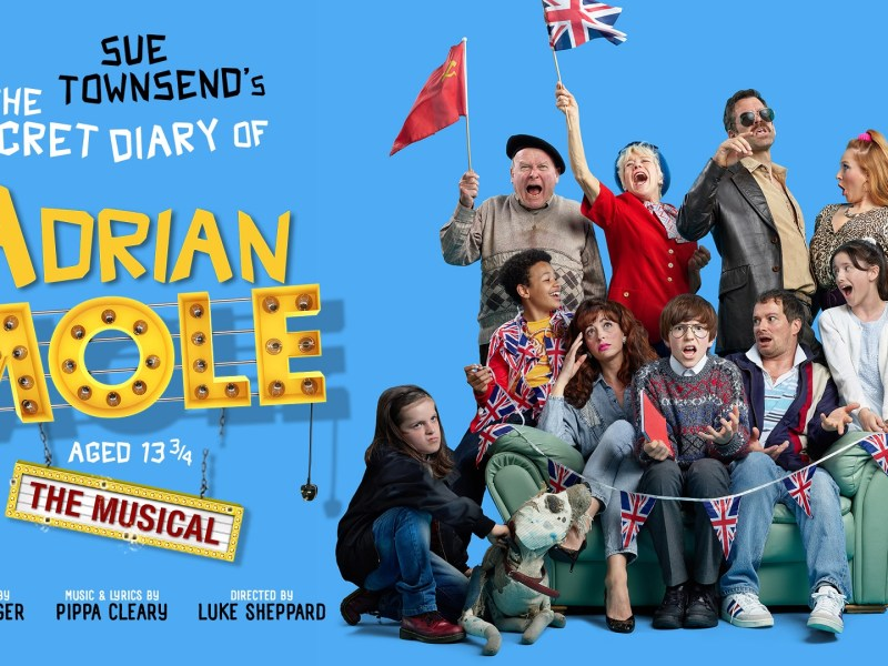 REVIEW – THE SECRET DIARY OF ADRIAN MOLE AGED 13 3/4 – AMBASSADORS THEATRE