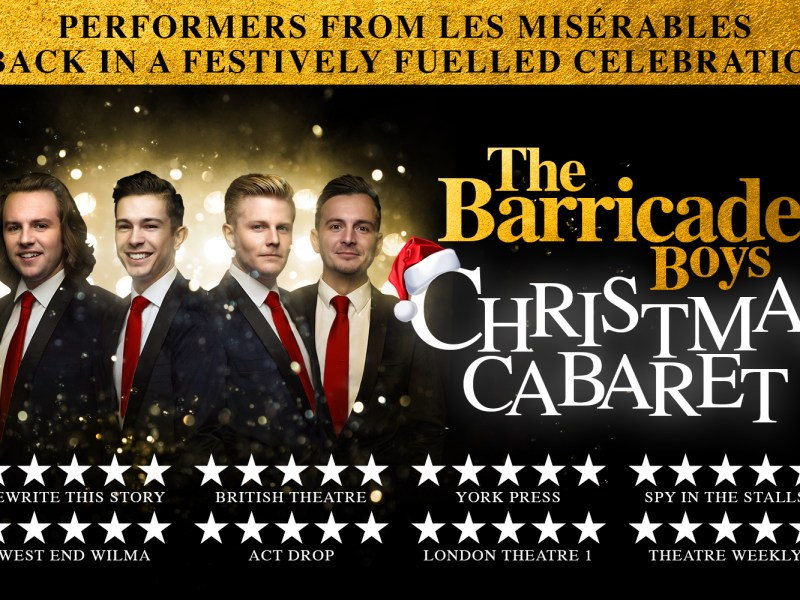 SPECIAL GUEST STARS ANNOUNCED FOR THE BARRICADE BOYS CHRISTMAS CABARET