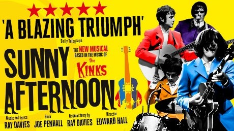SUNNY AFTERNOON UK TOUR ANNOUNCED
