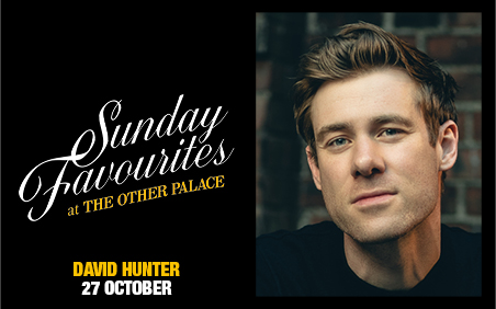 DAVID HUNTER CONCERT ANNOUNCED FOR THE OTHER PALACE