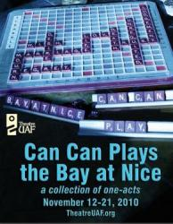 Can Can Plays the Bay at Nice production poster