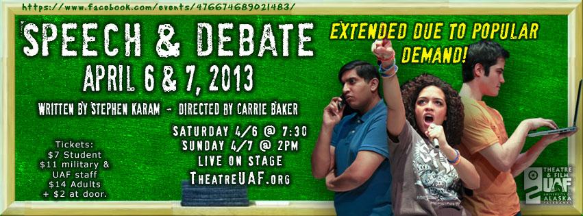 Speech & Debate extended!