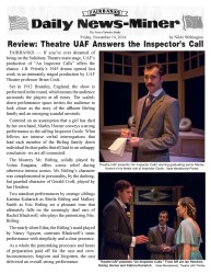An Inspector Calls official News-Miner review