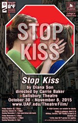 Stop Kiss production poster