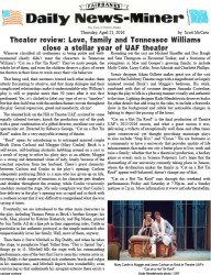Read the official review of the production.