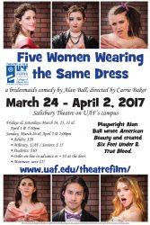Five Women Wearing the Same Dress poster