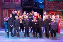 """Avenue Q"" cast and musicians / IIT and Theatre UAF"