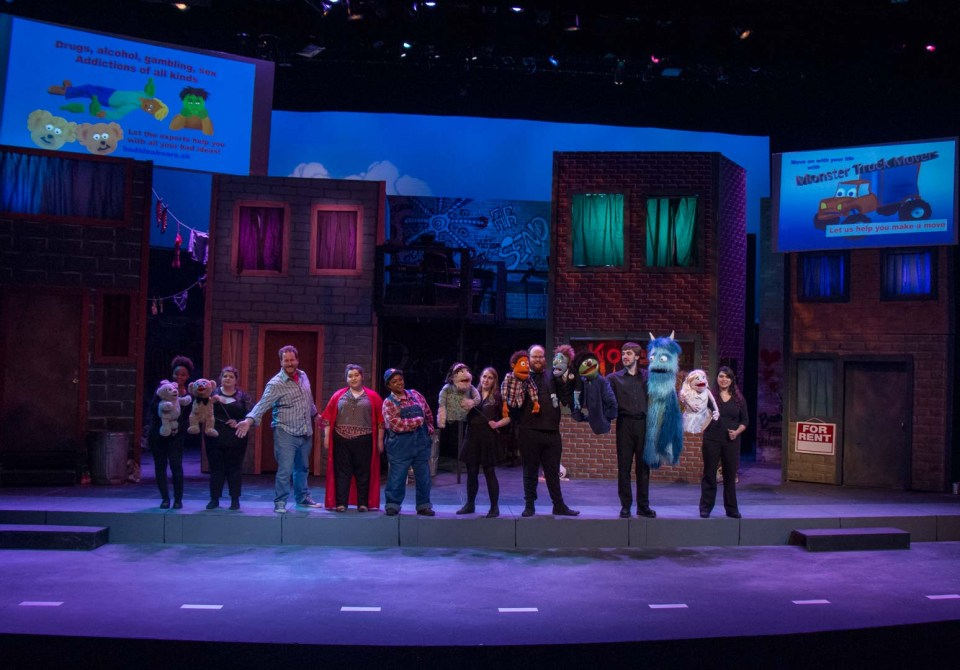 """Avenue Q"" production photo 158"
