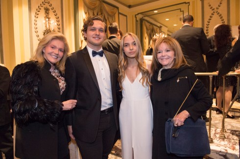 Brenda Nestor Castellano, Sean Castellano, Conner Castellano and Marianne Cassini