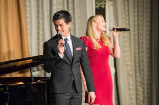 Telly Leung and Carrie St. Louis