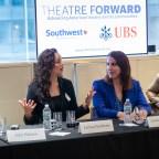 Julie Halston, Larissa FastHorse, Jill Simonson Luciano, and Brandon Uranowitz