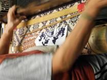 Detail of Jacquard loom @Sasaki Nō Isshō. ©2013 Megan Nicely.