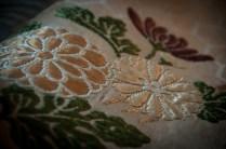 Cloth detail, Sasayama Noh Museum