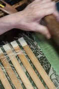 Loom detail, Sasaki workshop