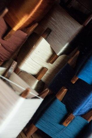 Thread detail, Sasaki workshop