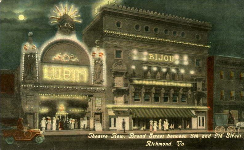 Theatre Row, Broad Street, Richmond, Virginia