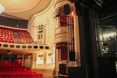 The auditorium from the stage 4