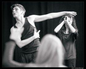 Matthew Finlan & Lucy Rupert Photo by Jeremy Mimnagh