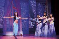 Aladdin_Prince Edward Theatre_Jade Ewen (Jasmine) and company_Photographer Deen van Meer. © Disney