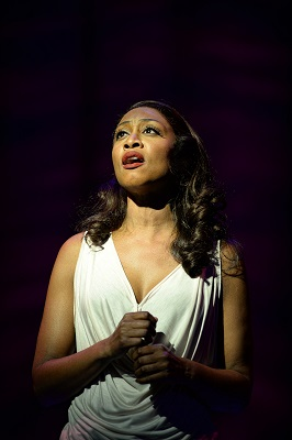 14. Beverley Knight (Rachel Marron) in The Bodyguard at the Dominion Theatre. Photo credit Alessandro Pinna
